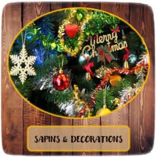 Sapins & Décorations