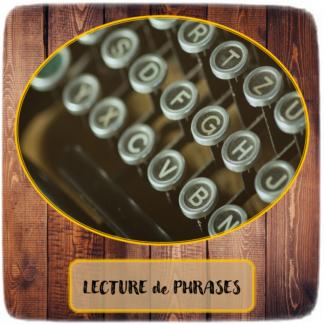 Lecture de phrases